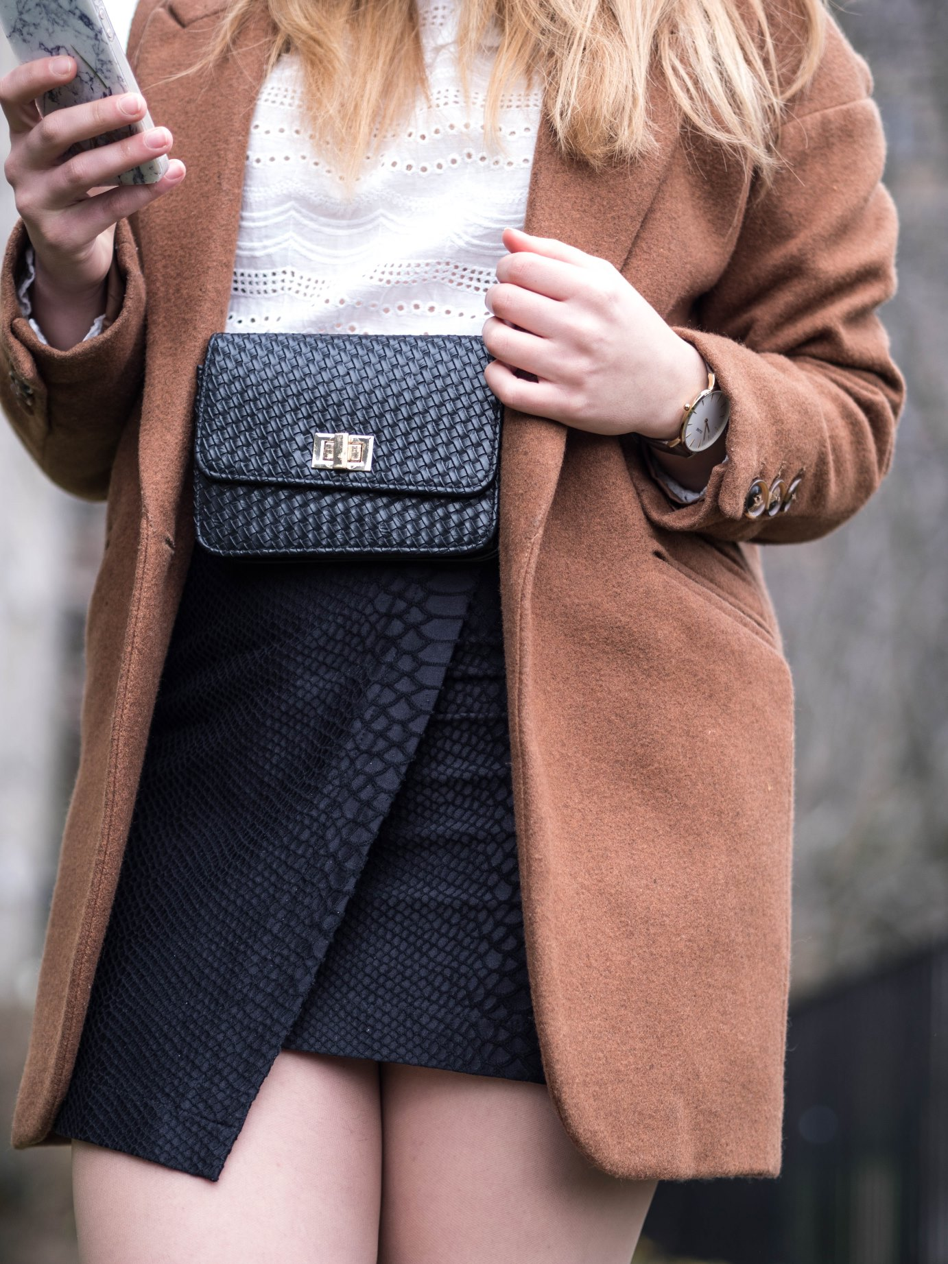 Fashion-Revolution-thrifted-blazer-black-bag-belt-bag